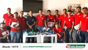 Ferramentas São Romão realiza treinamento na parceira Almeida Comércio Distribuidor