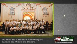 Família São Romão homenageia Nossa Senhora da Saúde