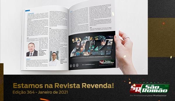 Estamos na Revista Revenda – Edição 364 Janeiro de 2021