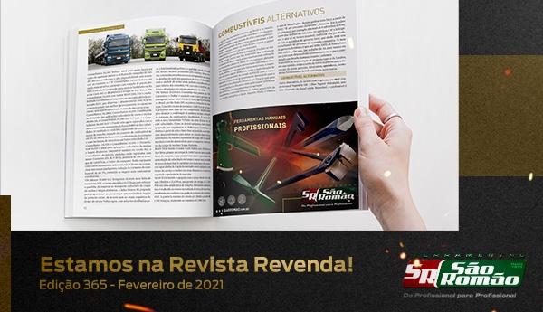 Estamos na Revista Revenda – Edição 365 Fevereiro de 2021